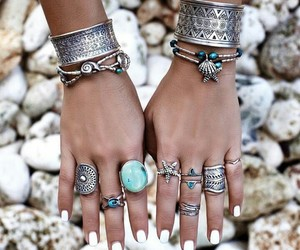 acessories, luxury, and rings image