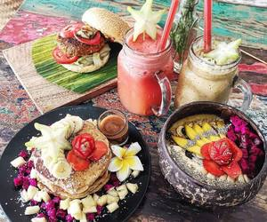breakfast, colorfull, and food image