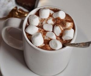 christmas, marshmallows, and warm image