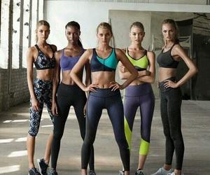 girl, angel, and workout image