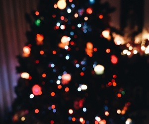 christmas, light, and beautiful image