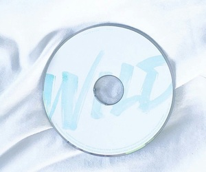 blue, cd, and pastel image