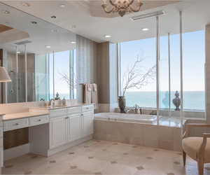 bath, bathroom, and florida image