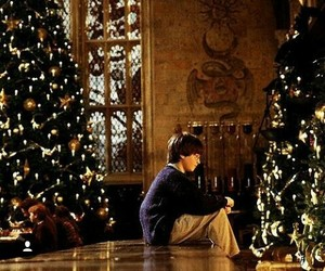 christmas and harry potter image