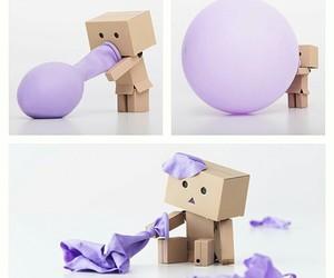 balloon and danbo image