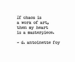 art, chaos, and heart image