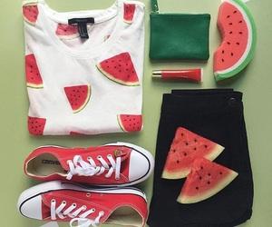 watermelon and fashion image