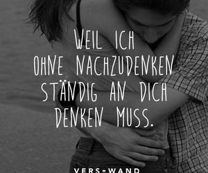 deutsch, dich, and liebe image