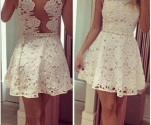 dress, short, and white image