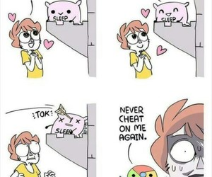 shen, blue chair, and owlturd image