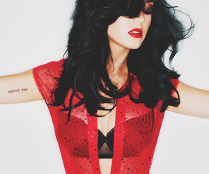 katy perry, sexy, and red image