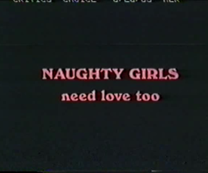 naughty, pink, and love image