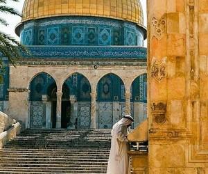 palestine, arabic, and القدس image