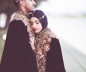 couple, love, and muslim image