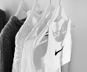 nike, fashion, and white image