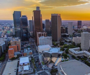 downtown and los angeles image