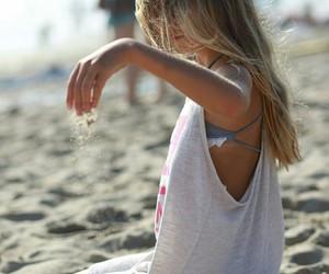 beach, kid, and kristina pimenova image