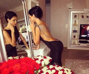 dress, luxury, and rose image