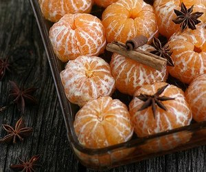 christmas, food, and tangerine image