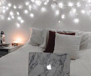 tumblr, aesthetic, and bed image
