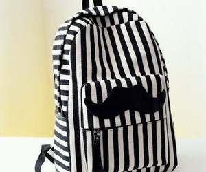 bag, black&white, and cute image