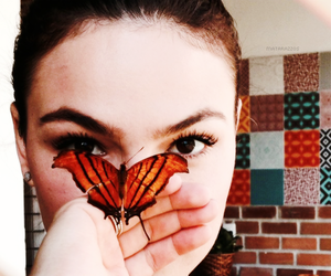 actress, butterfly, and beauty image
