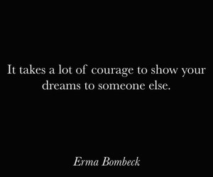 black, courage, and dreams image