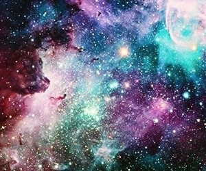 colors, space, and stars image