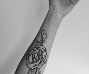 arm, black, and draw image