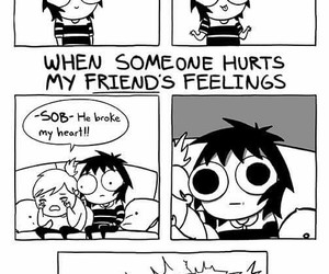 funny, friends, and sarah andersen image