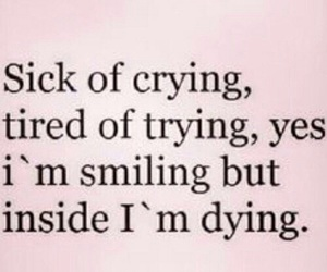 sad, sick, and dying image