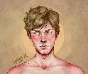 remus lupin and upthehillart image