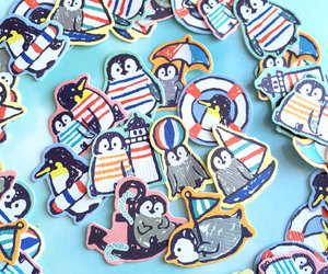 summer holiday, penguin sticker, and south pole image