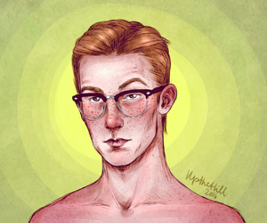 percy weasley and upthehillart image