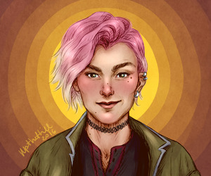 nymphadora tonks and upthehillart image