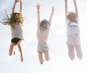 friendship, best friends, and girls image