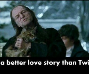 harry potter, funny, and filch image