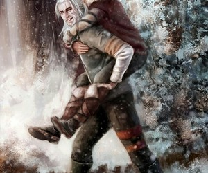 the witcher, cirilla, and ciri image
