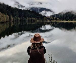 nature, mountains, and lake image