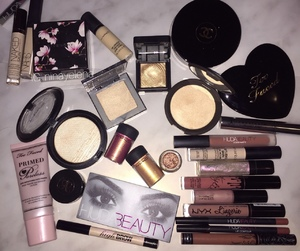 lovely, mac, and make up image
