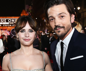 diego luna and Felicity Jones image