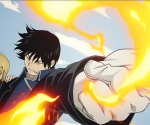 fullmetal alchemist, roy mustang, and fmab image