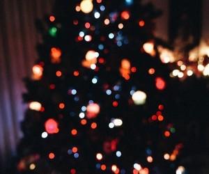 christmas, light, and beautiful image