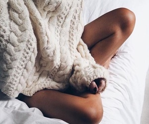 fashion, cozy, and winter image