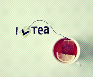 tea, love, and lemon image