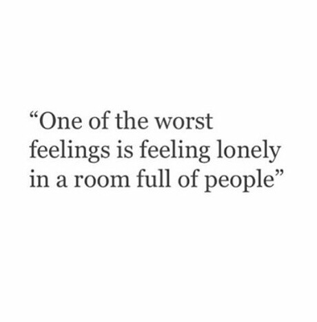 feelings, lonely, and phrases image