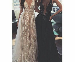 bff, dress, and friendship image