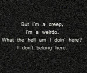creep, music, and song image