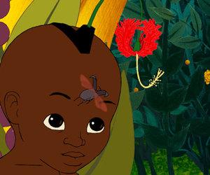 animation, west african, and kirikou et la sorciere image