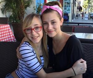 betty cooper and lili reinhart image